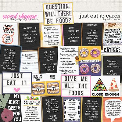 Just Eat It: Cards by Erica Zane