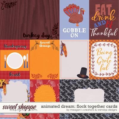 Animated Dream: Flock together - cards by Meagan's Creaions & WendyP Designs