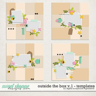 Outside The Box Templates Vol.1 by Digital Scrapbook Ingredients