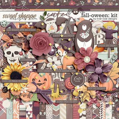 Fall-oween: Kit by River Rose Designs