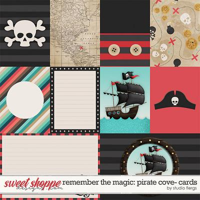Remember the Magic: PIRATE COVE- CARDS by Studio Flergs