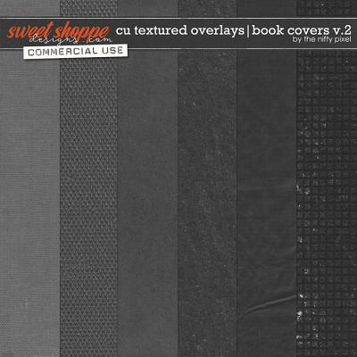 CU TEXTURED OVERLAYS | BOOK COVERS V.2 by The Nifty Pixel