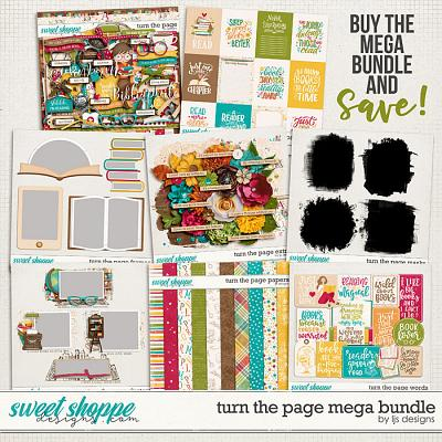 Turn The Page Mega Bundle by LJS Designs