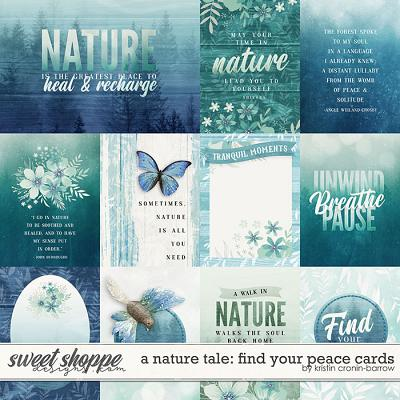 A Nature Tale: Find your Peace cards by Kristin Cronin-Barrow