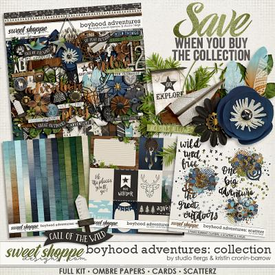 Boyhood Adventures: COLLECTION by Flergs & KCB