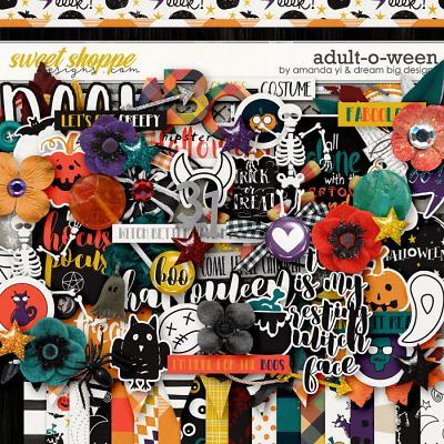 Adult-O-Ween by Amanda Yi & Dream Big Designs