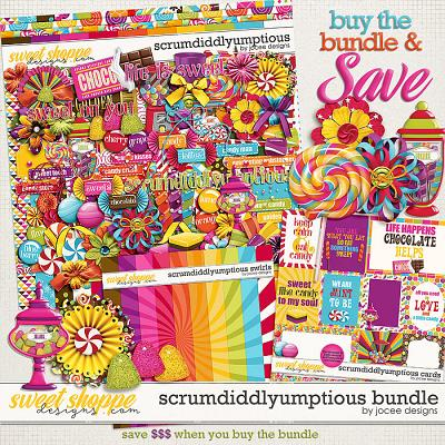 Scrumdiddlyumptious Bundle by JoCee Designs