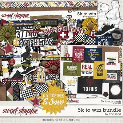 5k To Win: Bundle by Traci Reed