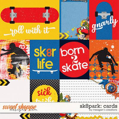 Sk8park: Cards by Meagan's Creations