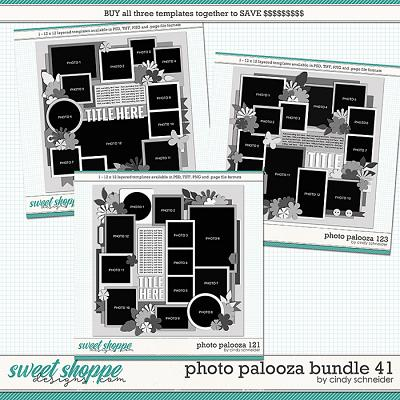 Cindy's Layered Templates - Photo Palooza Bundle 41 by Cindy Schneider