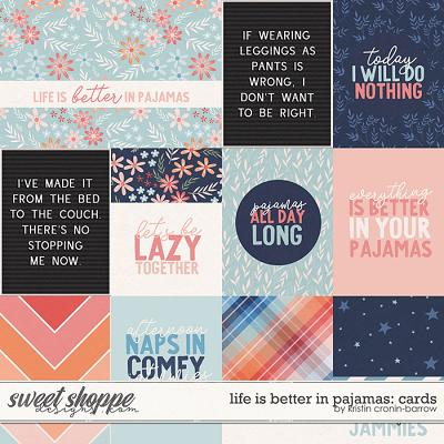 Life is Better in Pajamas: Cards by Kristin Cronin-Barrow