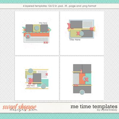 Me Time Templates by Crystal Livesay