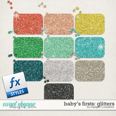 Baby's Firsts Glitters by Meagan's Creations