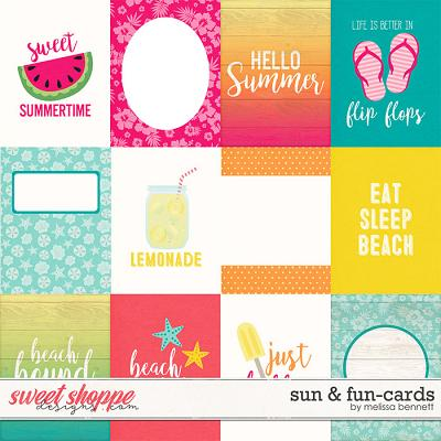 Sun & Fun-Cards by Melissa Bennett