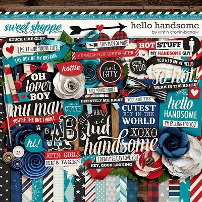 Hello Handsome by Kristin Cronin-Barrow