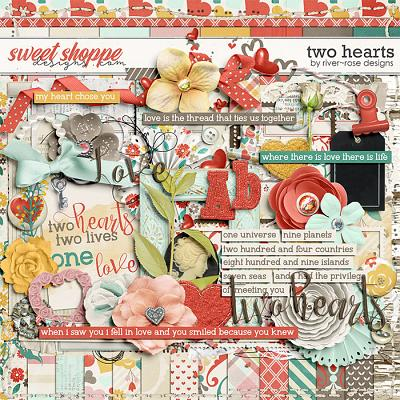Two Hearts by River Rose Designs