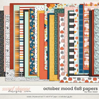 October Mood 6x8 Papers by Traci Reed