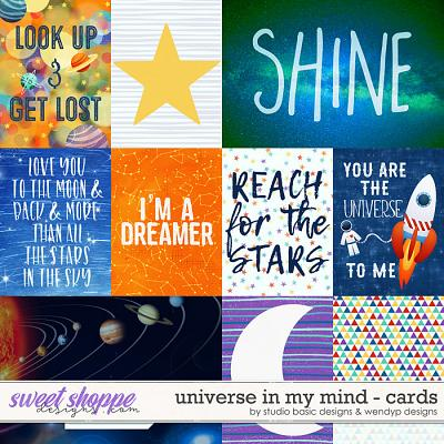 Universe In My Mind Cards by Studio Basic & WendyP Designs