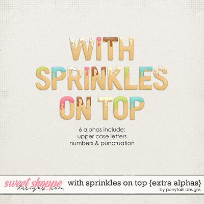 With Sprinkles on Top Extra Alphas by Ponytails