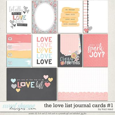 The Love List Cards #1 by Traci Reed