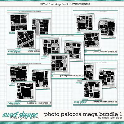 Cindy's Layered Templates - Photo Palooza Mega Bundle 1 by Cindy Schneider