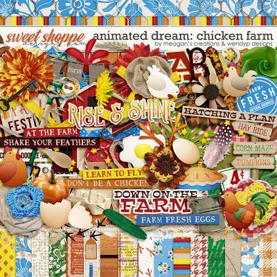 Animated Dream: Chicken Farm by Meagan's Creations and WendyP Designs