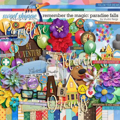 Remember the Magic: PARADISE FALLS by Studio Flergs