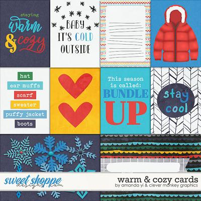 Warm & Cozy: Cards by Amanda Yi & Clever Monkey Graphics