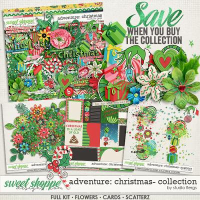 Adventure: Christmas- COLLECTION & *FWP* by Studio Flergs