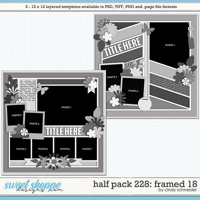 Cindy's Layered Templates - Half Pack 228: Framed 18  by Cindy Schneider