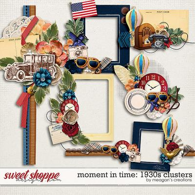 Moment in Time: 1930s Clusters by Meagan's Creations