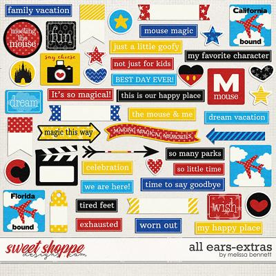 All Ears-Extras by Melissa Bennett