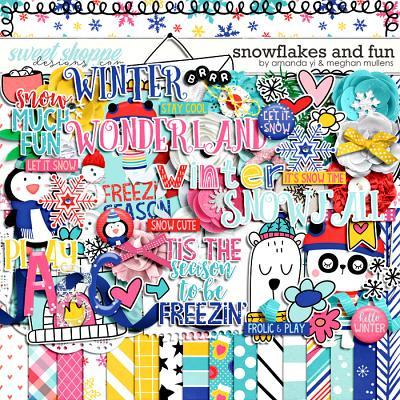 Snowflakes & Fun by Amanda Yi Designs & Meghan Mullens