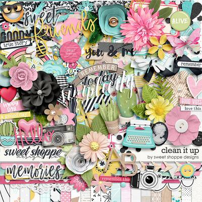 *FREE with your $20 Purchase* Clean It Up! by Sweet Shoppe Designs