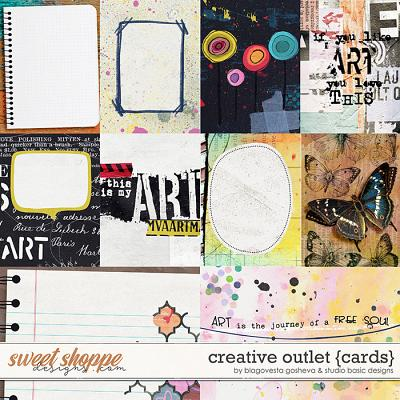 Creative Outlet Cards by Blagovesta Gosheva and Studio Basic