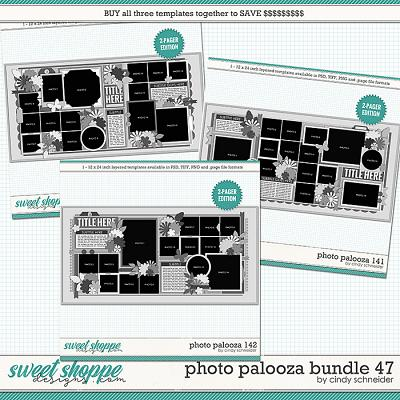 Cindy's Layered Templates - Photo Palooza Bundle 47 by Cindy Schneider