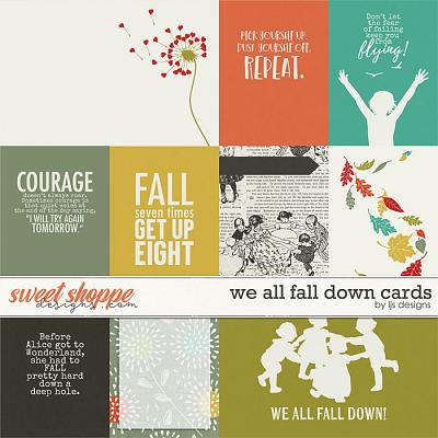 We All Fall Down Cards by LJS Designs