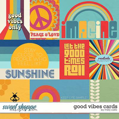 Good Vibes Cards by Misty Cato