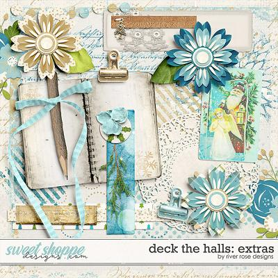 Deck the Halls: Extras by River Rose Designs
