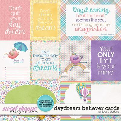 Daydream Believer Cards by JoCee Designs