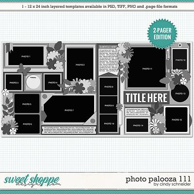 Cindy's Layered Templates - Photo Palooza 111 by Cindy Schneider