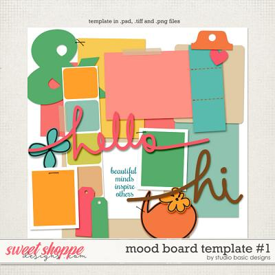 Mood Board Template #1 by Studio Basic