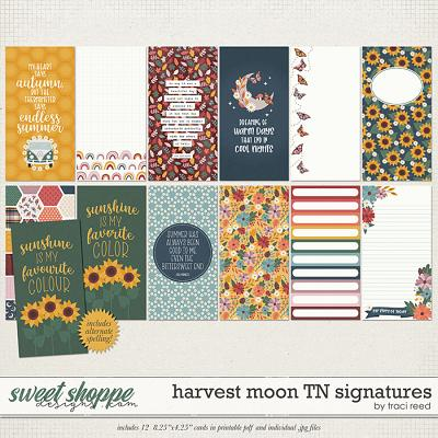 Harvest Moon TN Signatures by Traci Reed