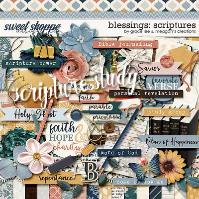 Blessings: Scriptures by Grace Lee and Meagan's Creations