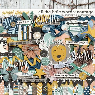 All The Little Words-Courage Kit by Amanda Yi and Meghan Mullens