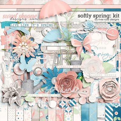 Softly Spring: Kit by River Rose Designs
