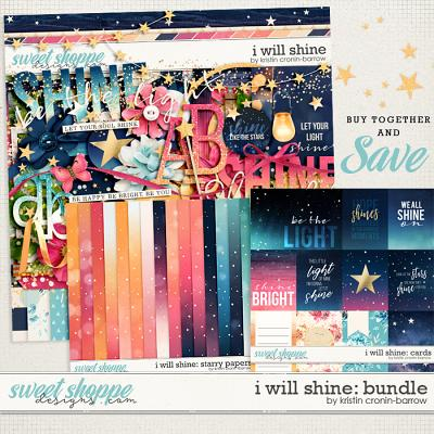 I Will Shine: Bundle by Kristin Cronin-Barrow