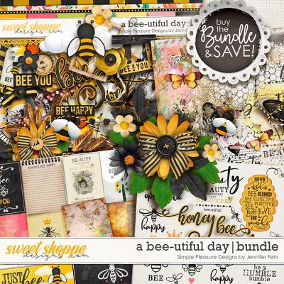 a bee-utiful day bundle: simple pleasure designs by jennifer fehr