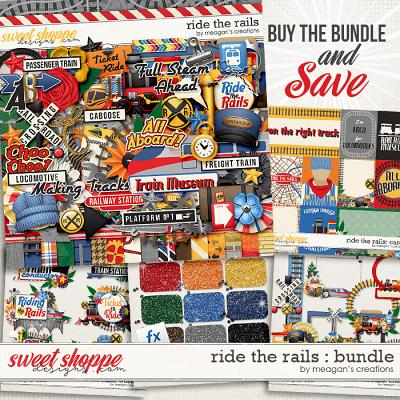 Ride the Rails Collection Bundle by Meagan's Creations