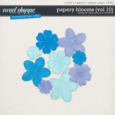 Papery Blooms {Vol 10} by Christine Mortimer